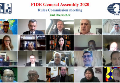 Rules Commission Meeting in the FIDE General Assembly